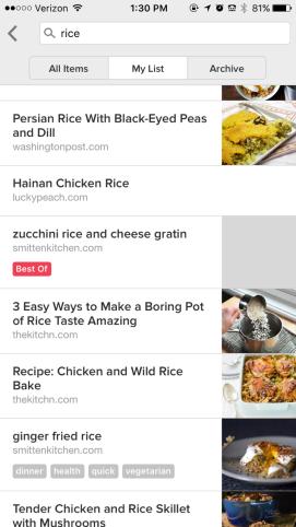 Organizing My Culinary Brain - Rice